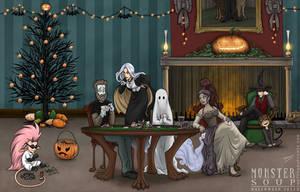 A Monster Soup Halloween