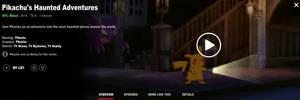 Pikachu's Haunted Adventures