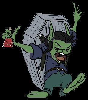 DnD Chars - Hemlock the Goblin by Jovey4