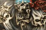 Patriotic Skull 2
