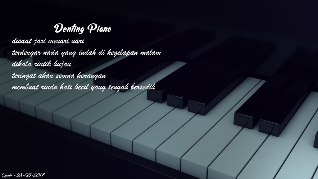 3D Piano by rekuza4