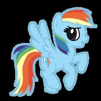 Rainbow Dash by Snowdrop-the-Kitty