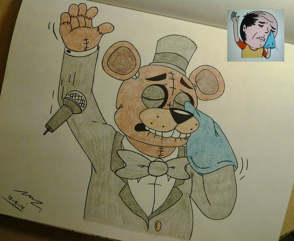 Freddy as Mr. Baldy from FB by Sega-HTF