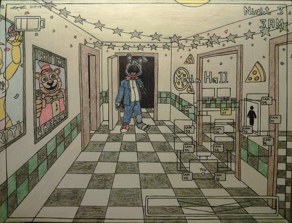 Fnaf2 image 3 by sega htf on deviantart for 1 2 3 4 all the ladies on the floor