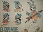 Toy Bonnie Doodles - FNAF2
