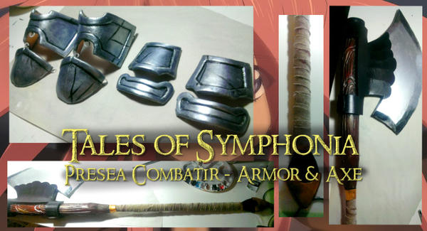 Presea Combatir Armor and Axe Commission by SuspiciousTumbleweed