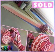 Rose Quartz Sword Prop - Steven Universe by SuspiciousTumbleweed