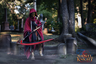 Specter Knight Cosplay by SuspiciousTumbleweed