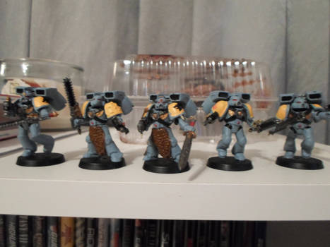 Space Wolves Skyclaws