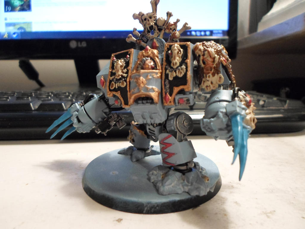 Space Wolf Murderfang by Wulfspider