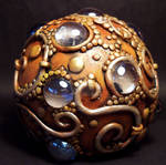 Dragon egg paper weight