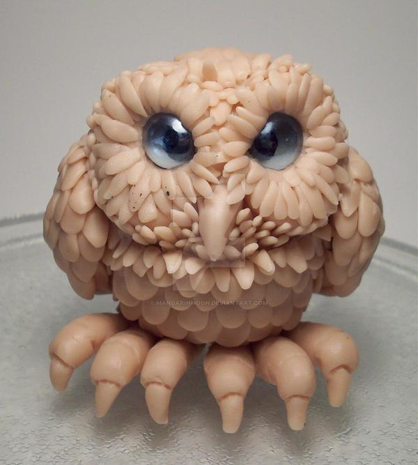 Polymer Clay Owl Raw Clay By Mandarinmoon On Deviantart