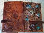 Front and back of journal