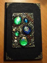 Journal with Mirrored Gems by MandarinMoon