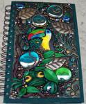 Rainforest blank journal