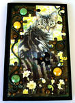 Tabby Cat Puzzle Blank Book