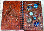 Journal Time Flies front back