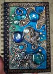 Seahorse King Blank Book