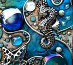 Seahorse King book closeup