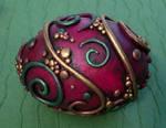 Violet Decorative Egg