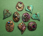 Fall Assorted Cabochons 1