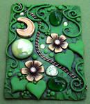 Emerald Garden ACEO