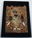 Mosaic Owl Art Journal