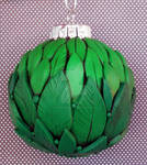 Green Leaves Ornament