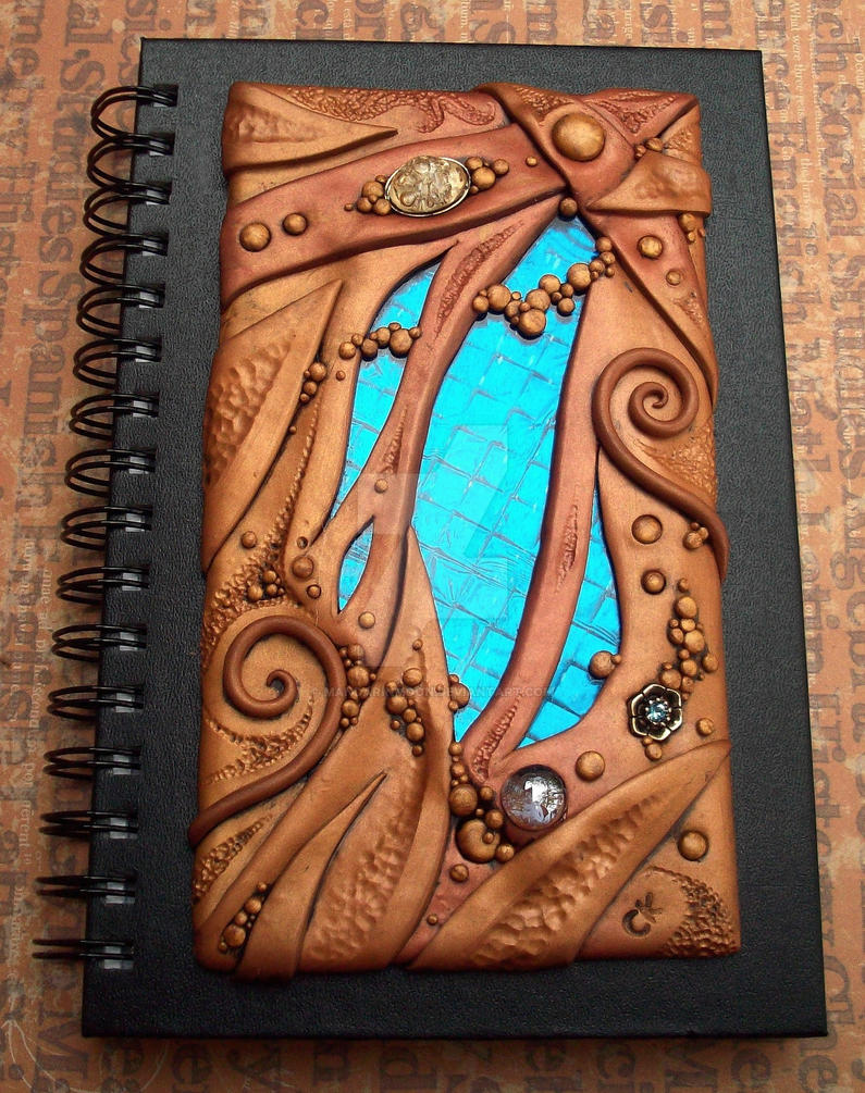 Art Glass and Clay Journal by MandarinMoon