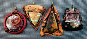 Polymer Clay Pendants Custom Order