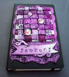 Custom Covered Journal Shades of Purple