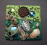 Sea Turtle Sun Catcher Tile
