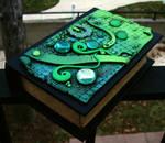 Lizared Skin Book Box-angled view