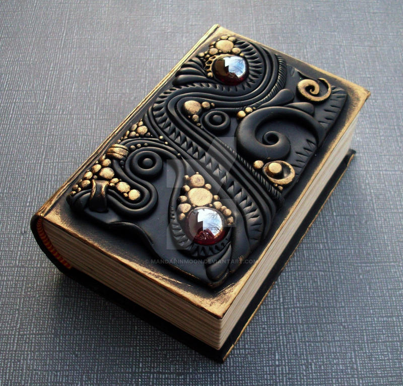 Black And Gold Book Cover : Little black and gold book box by mandarinmoon on deviantart