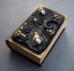 Little Black and Gold Book Box