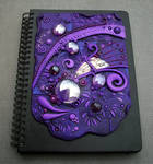 Journal Cover Purple Passion