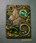 Olive Garden ACEO with Butterfly