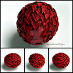 Fire Dragon Egg Polymer Clay