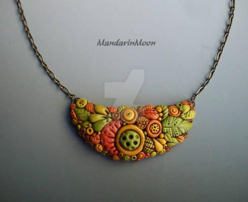 Autumn Garden Necklace