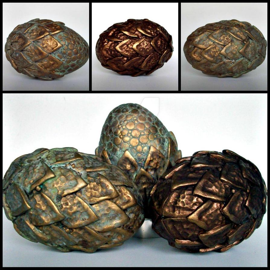Dragon Eggs Ancient Metals by MandarinMoon
