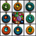 Dragon Pendants New Group