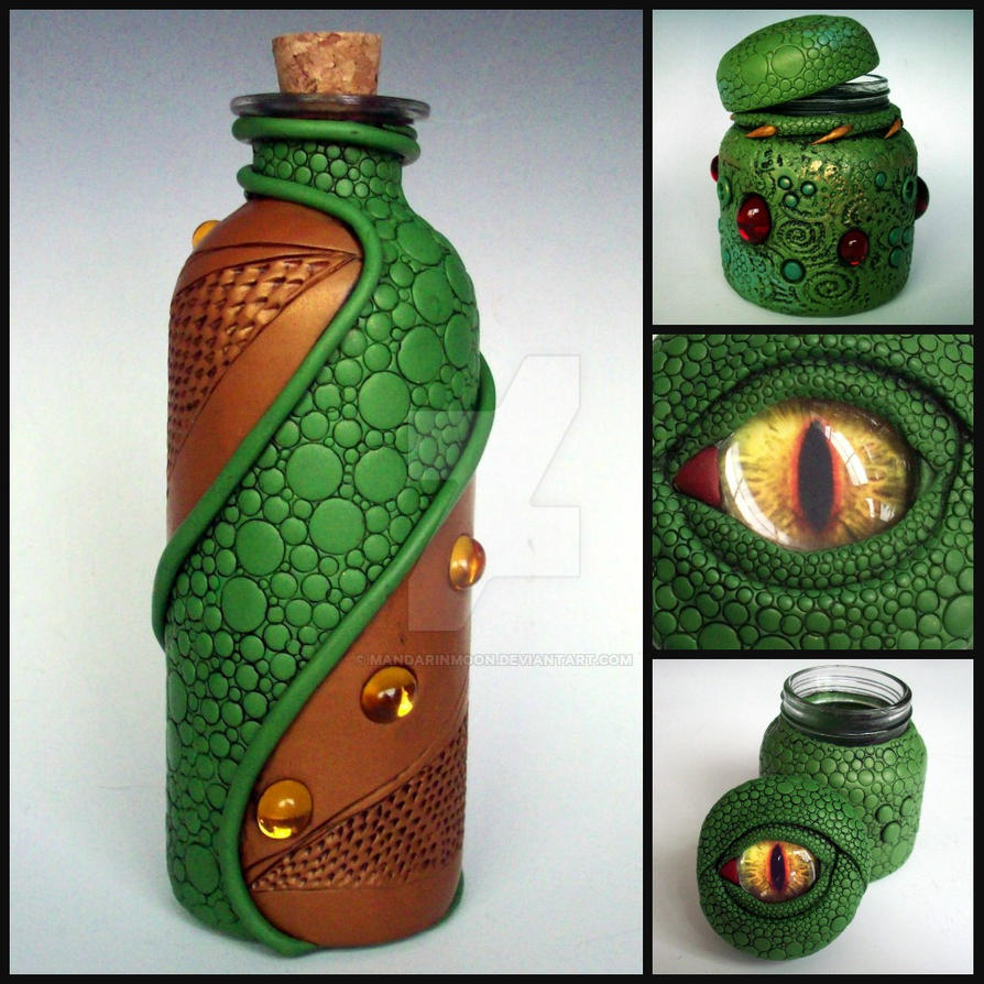 Dragon Vessels by MandarinMoon