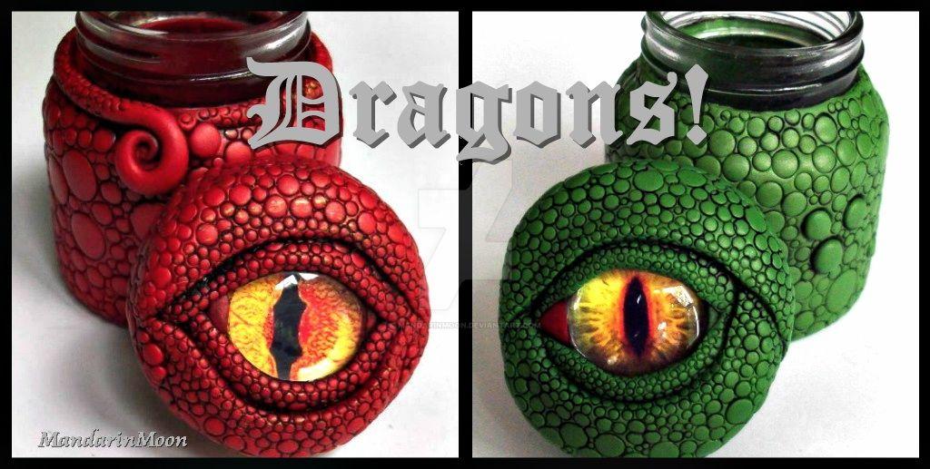 Dragon Eye Vessels by MandarinMoon