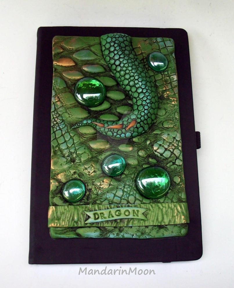 Dragon Journal cover by MandarinMoon