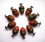 Acorn Pendants