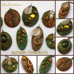 Autumn Pendants November 2015