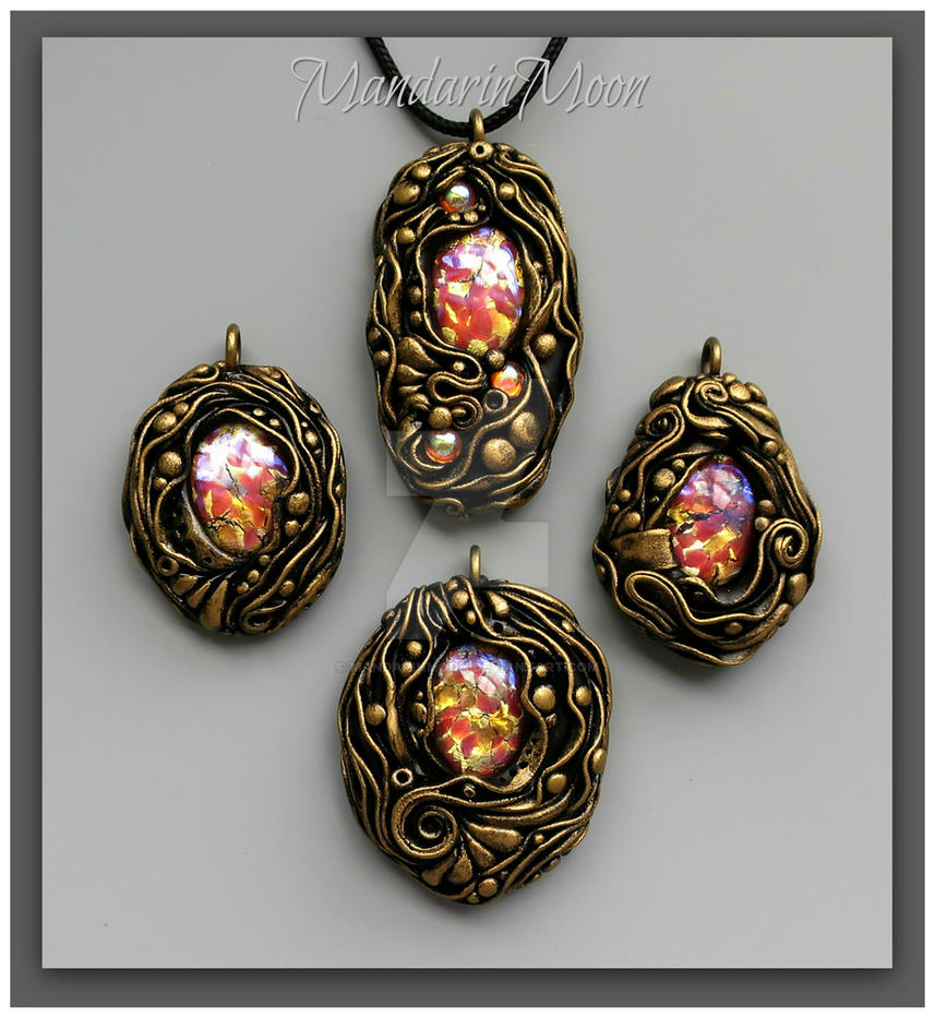perle poseidon ciondolo watch diy con e rocailles starlight beads tutorial pendant twin cerate