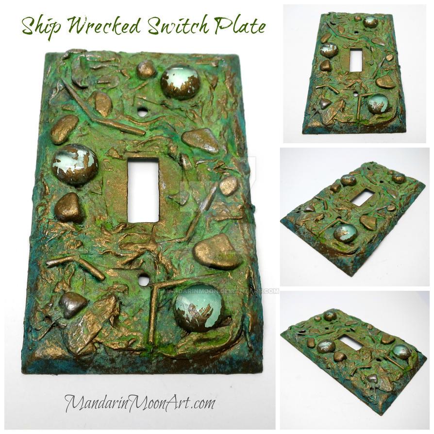 Shipwrecked Switch Plate by MandarinMoon