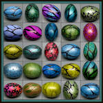 Painted Easter Eggs March 2017