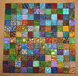 Polymer Clay Inchie Tiles